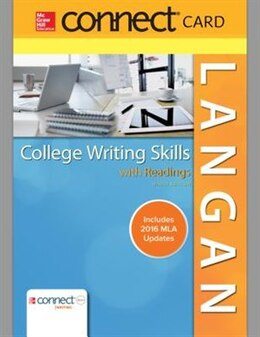 Book Connect Access Card for Langan's College Writing Skills with Readings by John Langan