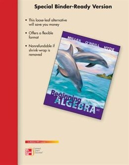Book LOOSE LEAF VERSION FOR BEGINNING ALGEBRA by Julie Miller