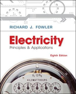 Book Electricity: Principles & Applications w/ Student Data CD-Rom by Richard Fowler