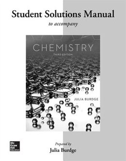 Book Student Solutions Manual for Chemistry by Julia Burdge