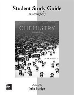 Book Student Study Guide for Chemistry by Julia Burdge