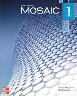 Book Mosaic 1 Reading Student Book by Brenda Wegmann