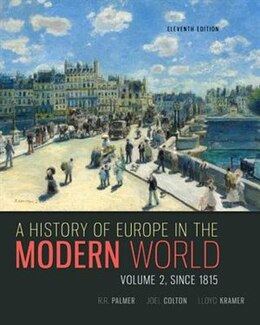 Book A History of Europe in the Modern World, Volume 2 by R. R. Palmer