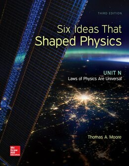 Book Six Ideas that Shaped Physics: Unit N - Laws of Physics are Universal by Thomas Moore