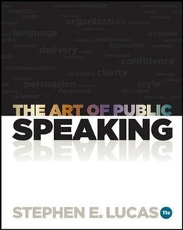 Book The Art of Public Speaking with Connect Access Card by Stephen Lucas