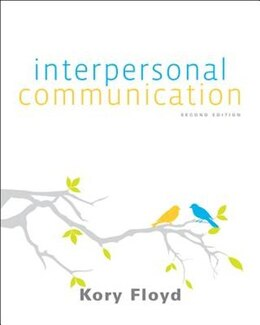 Book Floyd Interpersonal Communication with Connect Access Card by Kory Floyd