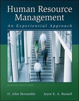 Book Human Resource Management with Premium Content Access Card by H. John Bernardin