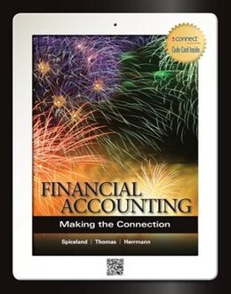 Book Financial Accounting: Making the Connection with Connect Access Card by J. David Spiceland