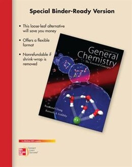 Book Loose Leaf Version for Chemistry: The Essential Concepts. by Raymond Chang