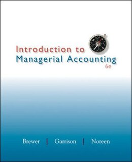Book Introduction to Managerial Accounting with Connect Access Card by Peter Brewer