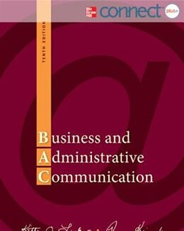 Book Business and Administrative Communication with Connect Access Card by Kitty Locker