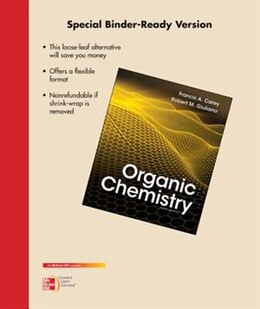 Book Loose-Leaf for Organic Chemistry by Francis Carey