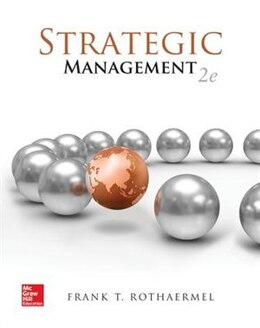Book Strategic Management: Concepts by Frank Rothaermel