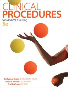 Book Clinical Procedures for Medical Assisting by Kathryn Booth