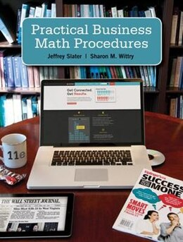 Book Practical Business Math Procedures with Handbook, Student DVD, and WSJ insert by Jeffrey Slater