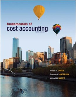 Book Fundamentals of Cost Accounting with Connect Access Card by William Lanen