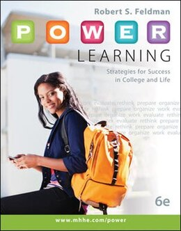 Book P.O.W.E.R. Learning: Strategies for Success in College and Life with Connect Access Card by Robert Feldman