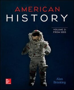 Book American History: Connecting with the Past Volume 2 by Alan Brinkley
