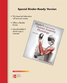Book Loose Leaf Version for Mader's Understanding Human Anatomy & Physiology by Susannah Longenbaker