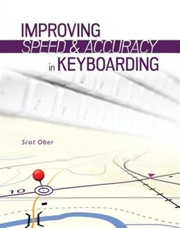 Book Improving Speed and Accuracy in Keyboarding with Software Registration Card by Scot Ober