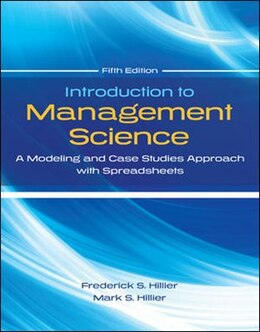 Book Introduction to Management Science with Student CD and Risk Solver Platform Access Card: A Modeling… by Frederick Hillier