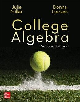 Book College Algebra by Julie Miller