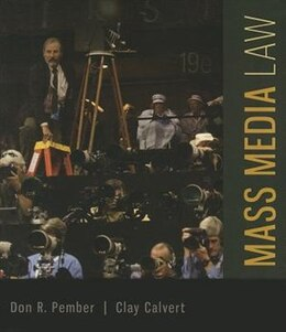 Book Mass Media Law by Don Pember
