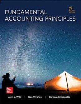 Book Fundamental Accounting Principles by John Wild