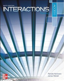 Book Interactions Access Reading and Writing Student Book by Pamela Hartmann