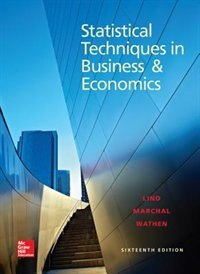 Book Statistical Techniques in Business and Economics by Douglas Lind