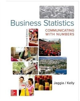 Book Business Statistics: Communicating with Numbers by Sanjiv Jaggia