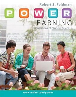 Book P.O.W.E.R. Learning: Foundations of Student Success by Robert Feldman