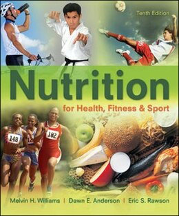 Book Nutrition for Health, Fitness & Sport by Melvin Williams