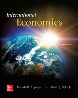 Book International Economics by Dennis Appleyard