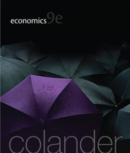 Book Economics by David Colander