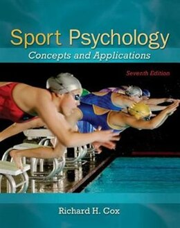 Book Sport Psychology: Concepts and Applications by Richard Cox