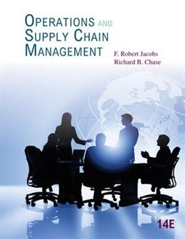 Book Operations And Supply Chain Management by F. Robert Jacobs