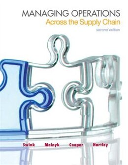 Book Managing Operations Across the Supply Chain by Morgan Swink