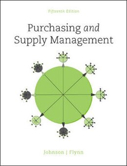 Book Purchasing and Supply Management by P. Fraser Johnson