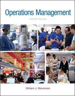 Book Operations Management by William J Stevenson