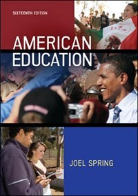 Book American Education by Joel Spring