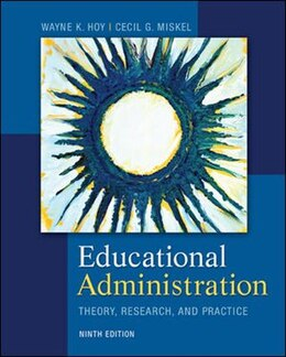 Book Educational Administration: Theory, Research, and Practice by Wayne Hoy