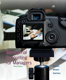 Book Managerial Accounting for Managers by Eric Noreen