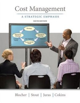 Book Cost Management: A Strategic Emphasis by Edward Blocher