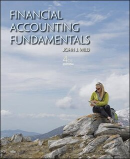 Book Financial Accounting Fundamentals by John Wild