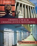 Book Criminal Law for the Criminal Justice Professional by Norman Garland