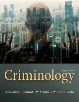 Book Criminology by Freda Adler