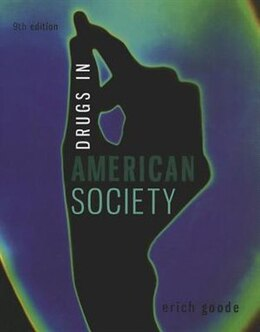 Book Drugs in American Society by Erich Goode
