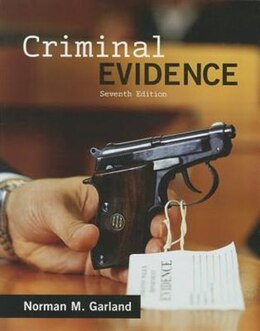 Book Criminal Evidence by Norman Garland