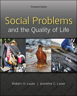 Book Social Problems and the Quality of Life by Robert Lauer